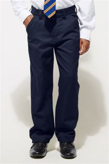 Flat Front Trousers (3-16yrs)
