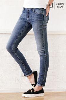 Denim Lightwash Armani Jeans Skinny Jean