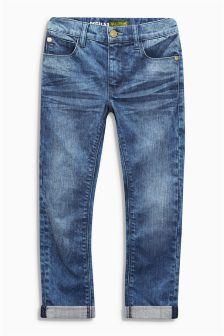 Bright Blue Regular Jeans (3-16yrs)