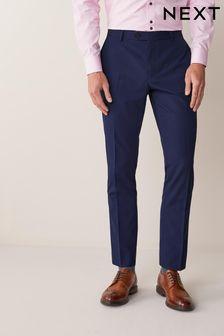 Blue Suit: Trousers