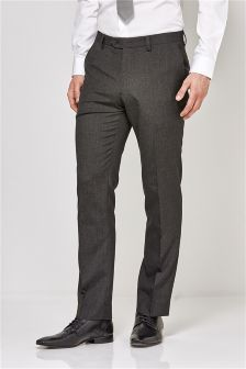 Charcoal Grey Suit: Trousers
