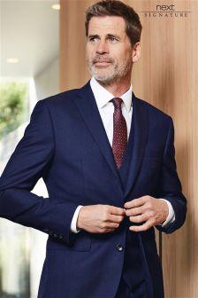 Blue Signature Slim Fit Suit