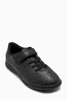 Black Astro Turf Trainers (Older Boys)