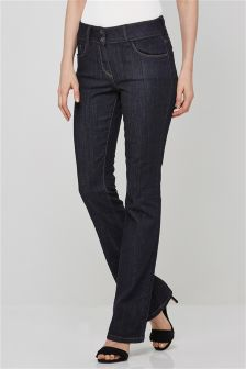 Denim Rinse Boot Cut Jeans