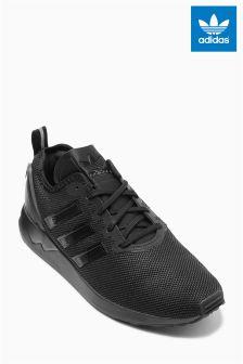 Black adidas Originals ZX Flux Racer
