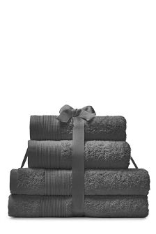 4 Piece Cotton Towel Bales