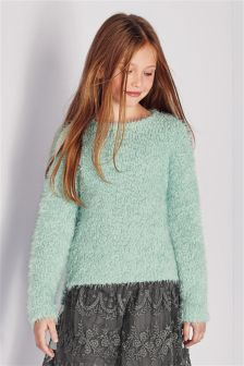 Sparkle Fluffy Sweater (3-16yrs)