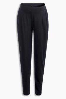 Jersey Tapered Trousers