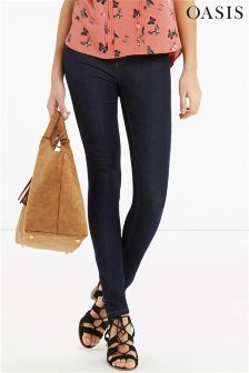 Mid Blue Oasis Lily Ankle Grazer Jean