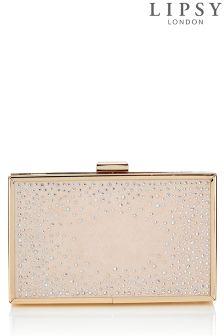 Lipsy Diamanté Clutch Bag
