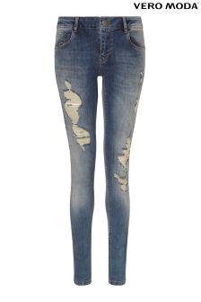 Vero Moda Ripped Denim Jeans