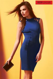 Wow Couture Caged Sleeveless Bodycon Dress
