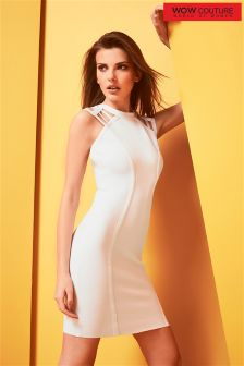 Wow Couture Caged Sleeveless Dress
