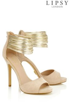 Lipsy Multi Ankle Strap Heeled Sandals