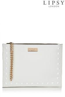 Lipsy Studded Clutch Bag