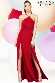 Ariana Grande For Lipsy Cutout Body Maxi Dress