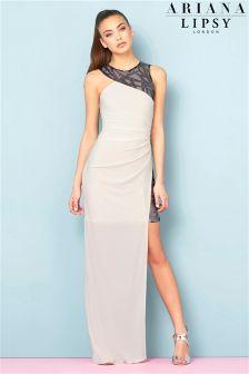Ariana Grande For Lipsy Geo Sequin Maxi Dress