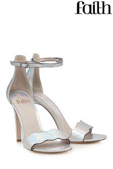 Faith Scallop High Heel Sandal