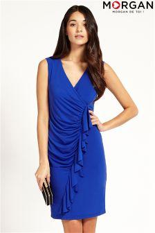 Morgan Sleeveless Wrap Dress