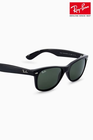 ray ban dealers near me s68a  Ray-Ban庐 Black Slim Wayfarer Sunglasses