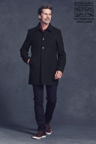 Buy Navy Signature Car Coat from the Next UK online shop