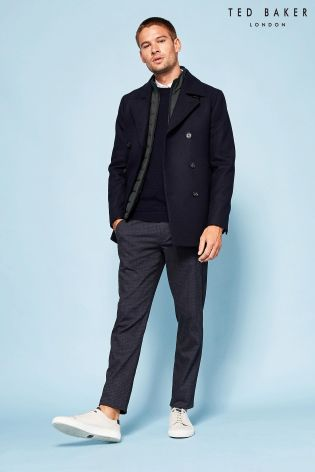 Buy Ted Baker Navy Peacoat from the Next UK online shop