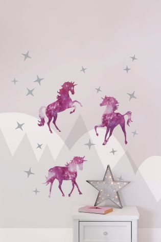 Set Of 20 Magical Unicorn Wall Sticker Part 58