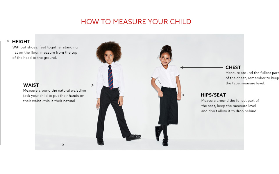 How to measure your child