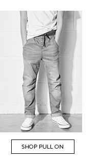 Shop the stylish collection of pull on jeans for boys here
