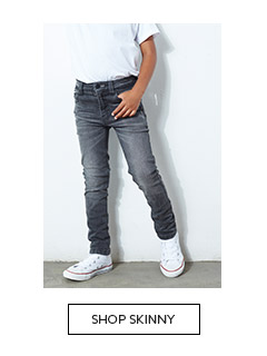 Shop the stylish collection of skinny jeans for boys here