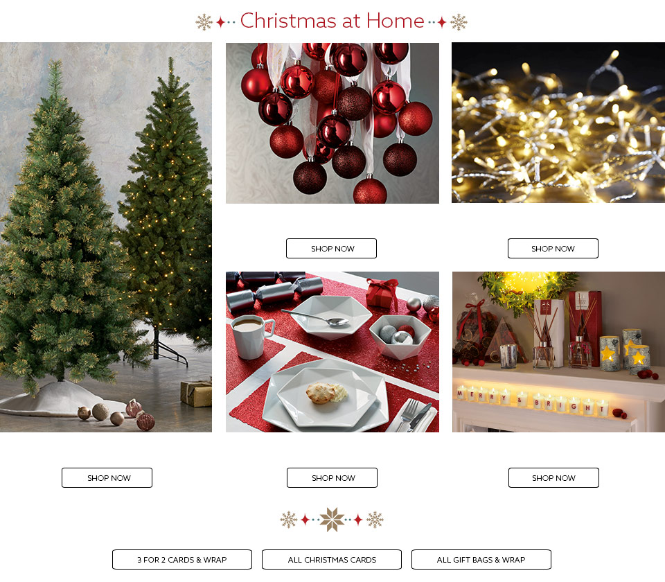 Shop Decorations For Christmas: Xmas Decorations & Clothing