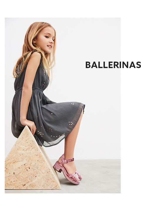 Shop girls ballerina shoe collection now