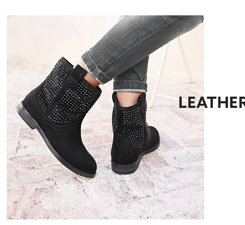 Shop girls leather shoes collection here