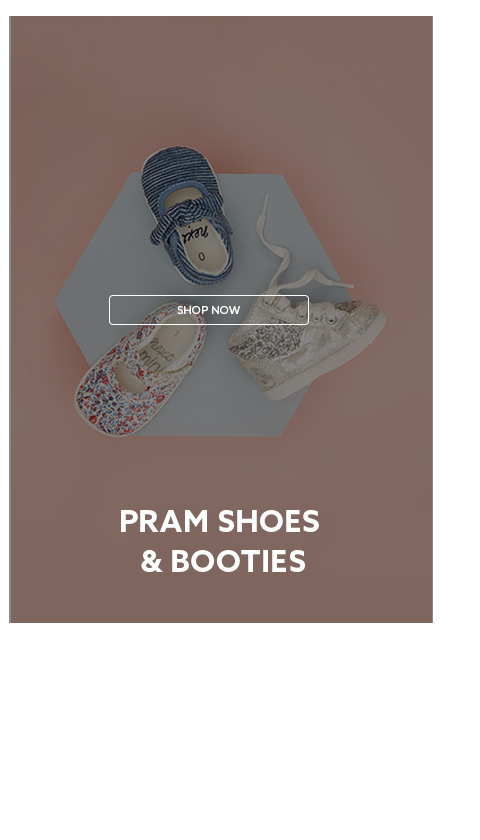 Shop girls pram shoes collection now