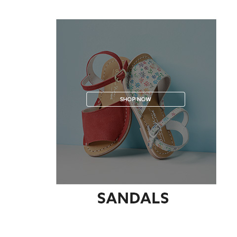 Shop here for girls sandals collection