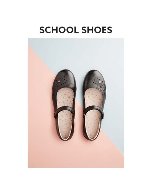 Shop here for girls school shoes collection now