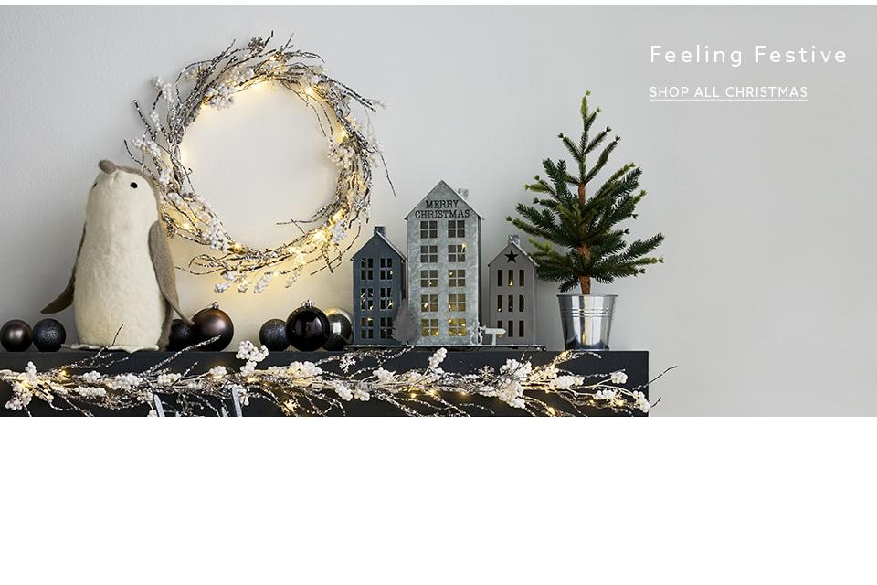 Christmas homeware christmas home ideas next uk for Next home xmas decorations