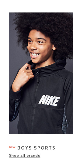 Find the different trends of sportswear for boys