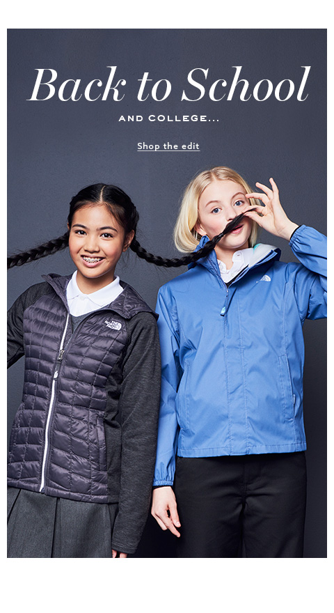 Shop the schoolwear outfits collection for girls