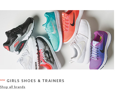 Shop the footwear collection for girls