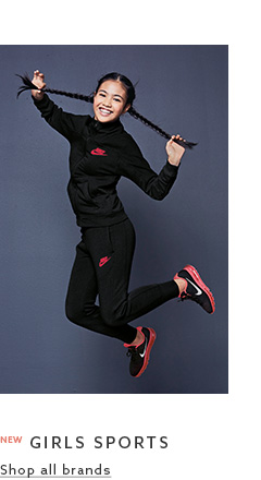 Find the different trends of sportswear for girls