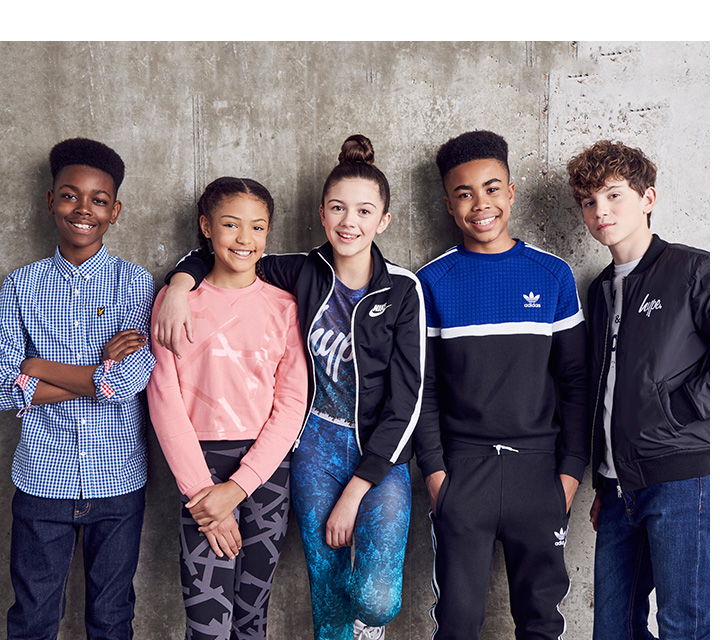 Shop the branded clothing collection for girls