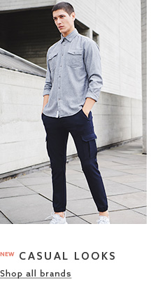 Browse the casual clothing collection for mens