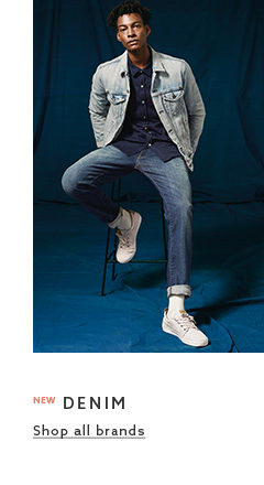 Browse the denim clothing collection for mens
