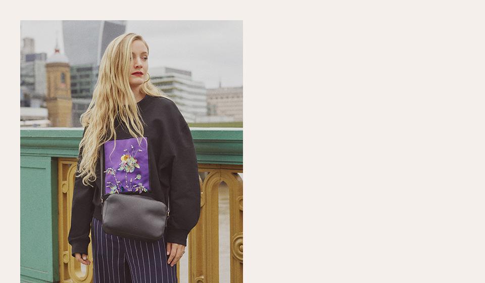 Shop Label/Mix - Mix/A V Robertson 3D Embellished Sweatshirt