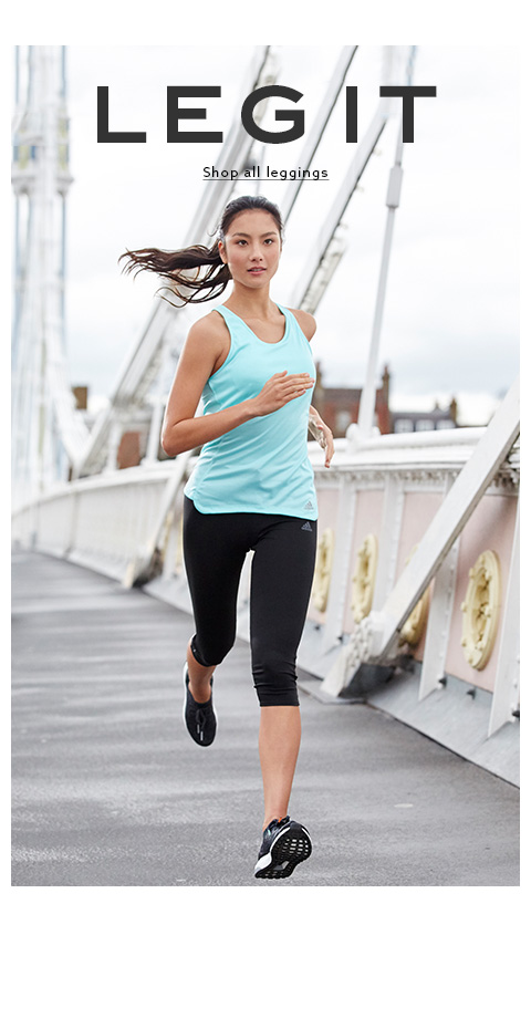 Shop now for the latest womens sports leggings collection.