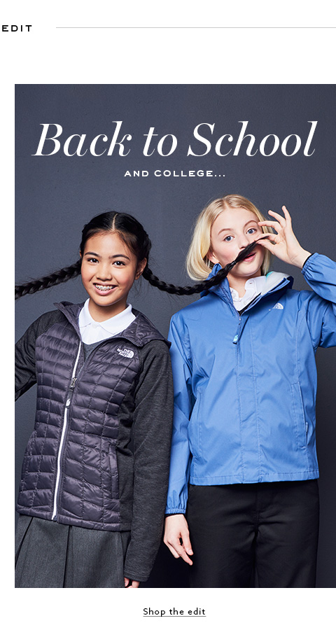 Browse Label - Back to school collection.