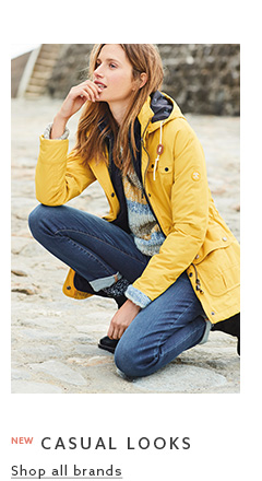 Take a look at the womens casual clothing collection now.