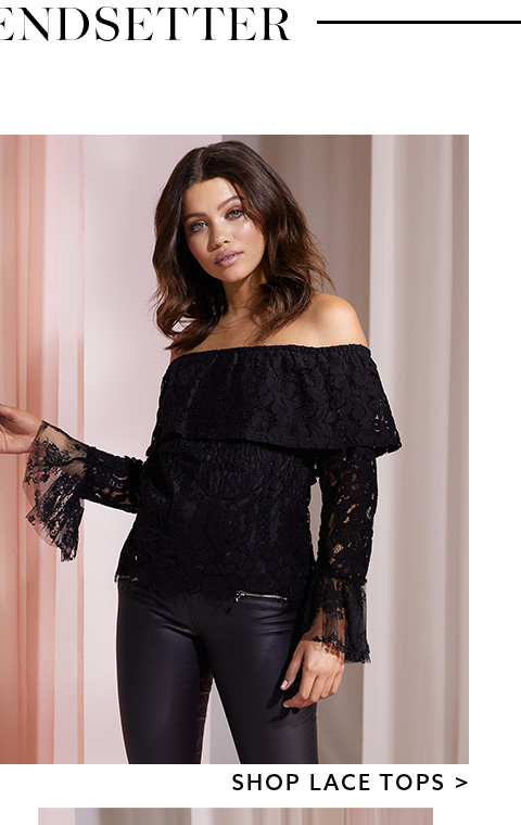 Shop the collection of lace top here
