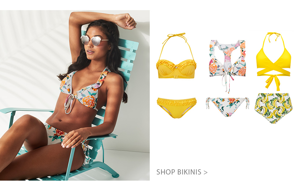 Shop bikinis collection for women here